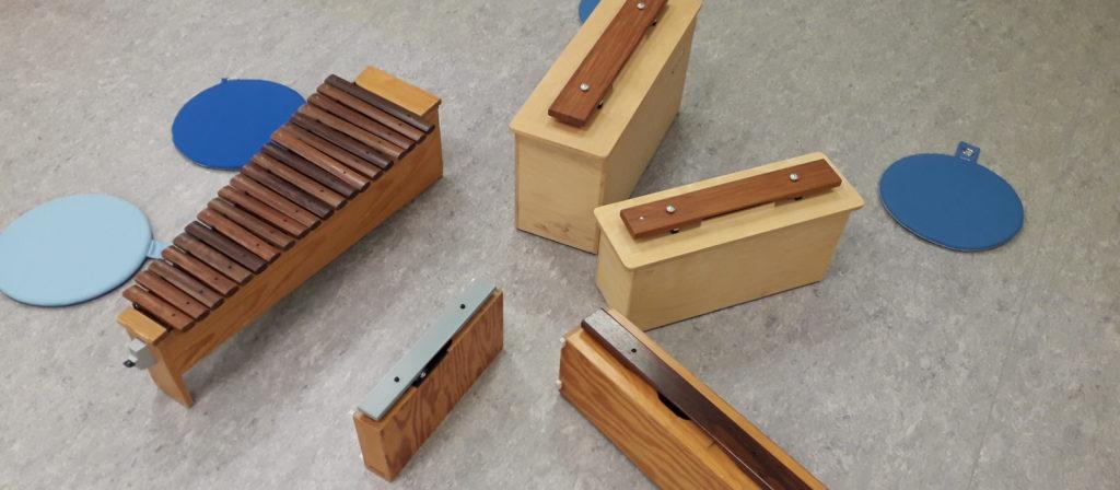 Xylophone in der Musikalischen Früherziehung in Karlsruhe